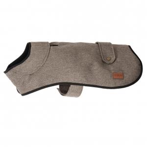 Ancol Muddy Paws Heritage Herringbone Coat Brown
