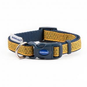Ancol Fashion Geometric Mustard Collar