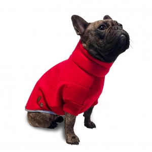 Ancol Muddy Paws Polar Fleece Jumper Red