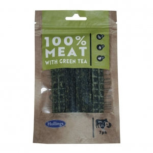 Hollings 100% Meat with Green Tea Bars 7pcs