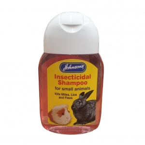Johnsons Insecticidal Shampoo for Small Animals 125ml