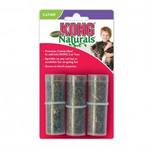 KONG Naturals Catnip Refillables Tubes 3pk