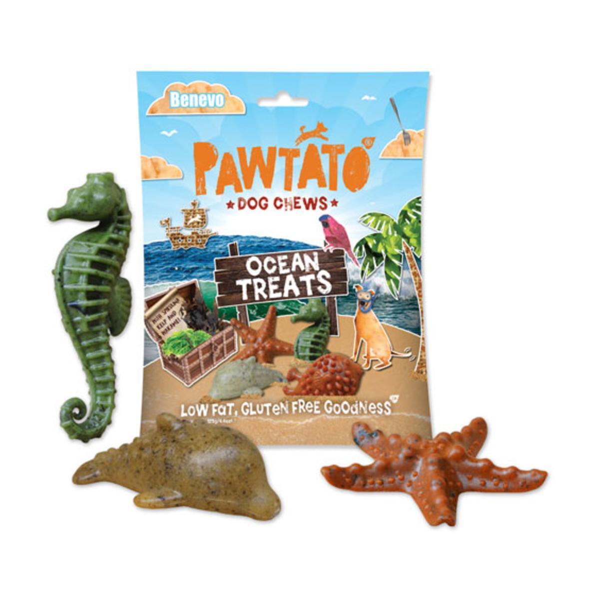 Pawtato Ocean Treats 125gm (Wheat Gluten Free)