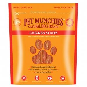 Pet Munchies Chicken Strips Super Value Pack 320gm