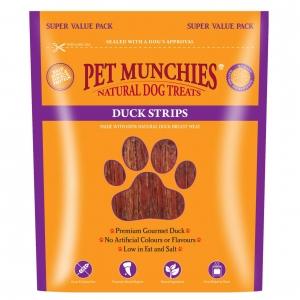 Pet Munchies Duck Strips Super Value Pack 320gm