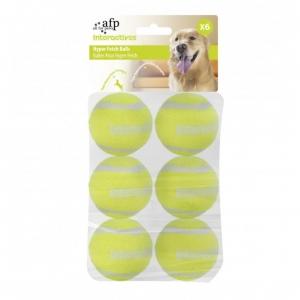 All for Paws Hyper Fetch Balls Maxi 6.5cm 6pcs