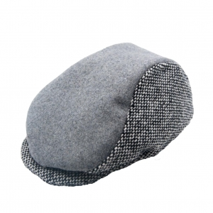 Sotnos Urban Grey Tweed Flat Cap