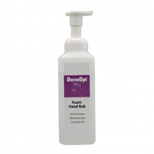 DermOpt Foam Hand Rub 500ml