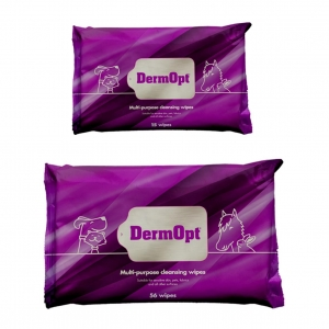 DermOpt Multi Purpose Cleansing Wipes (Two Sizes)