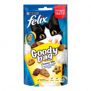 Felix Goody Bag Cheezy Mix 60gm