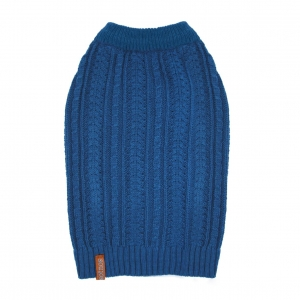 Sotnos Cable Knit Sweater Teal Blue