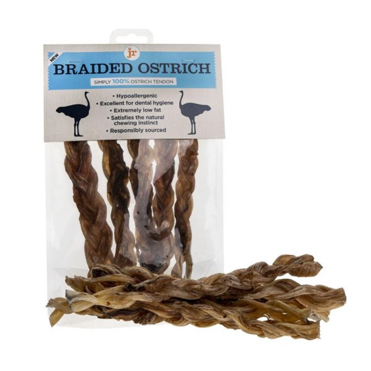 JR Braided Ostrich Tendon Twists 5pcs