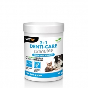 VetIQ 2 in 1 DentiCare Granules 60gm