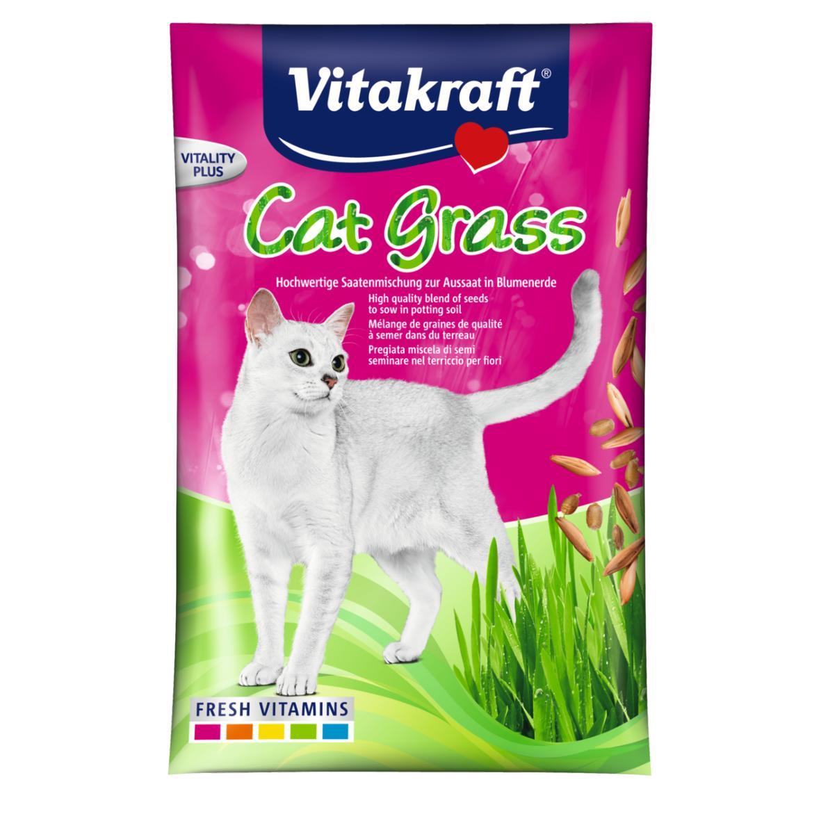 Vitakraft Cat Grass Refill Seeds 50gm