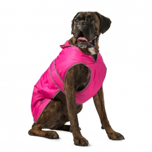 Ancol Muddy Paws Stormguard Dog Coat Pink