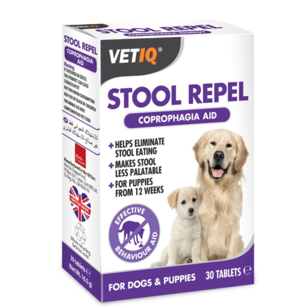 VetIQ Stool Repel Coprophagia Aid Tablets 30pcs