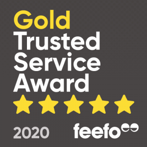 Purely Pet Supplies Ltd receives Feefo Gold Trusted Service Award 2020!