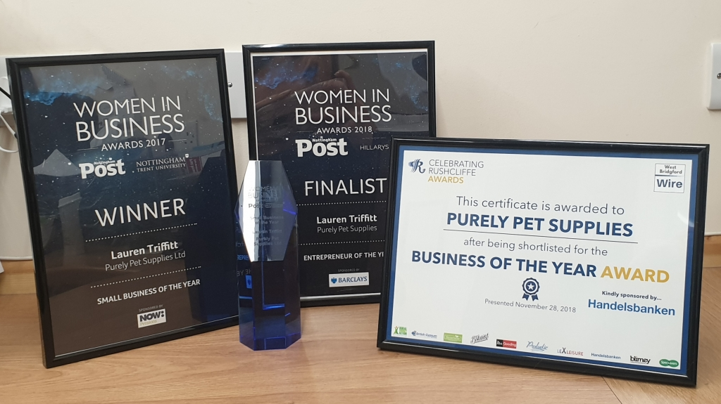 Purely Pet Supplies Ltd AWARDS