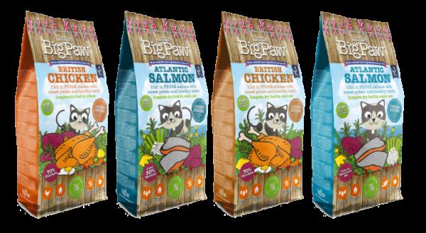 Little BigPaw Complete CAT FOOD DRY RANGE