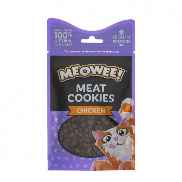 Meowee Meat Cookies Chicken 40gm