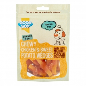 Good Boy Pawsley & Co Chewy Chicken & Sweet Potato Wedges