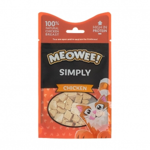 Meowee Simply Chicken Snacks 10gm
