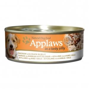 Applaws Dog Chicken with Duck in Jelly 12 x 156gm (Grain & Gluten Free)