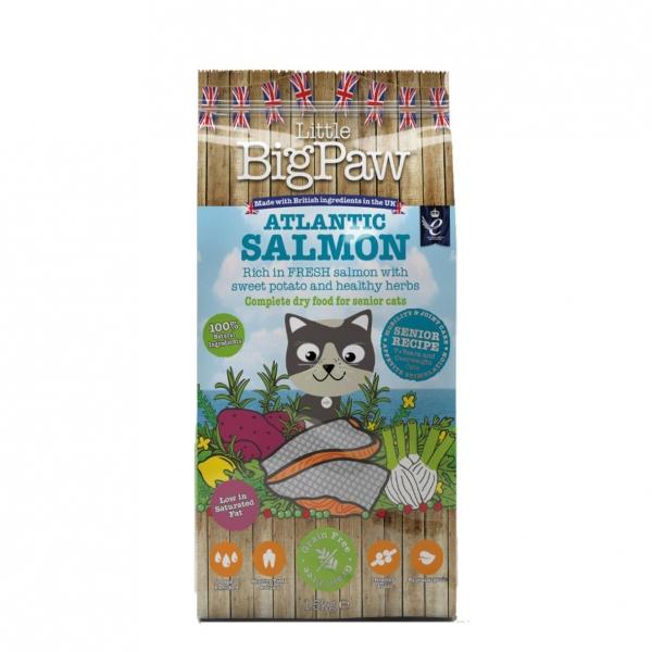 Little BigPaw Complete Senior Cat Atlantic Salmon with Sweet Potato 1.5kg