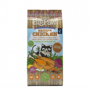 Little BigPaw Complete Cat British Chicken with Sweet Potato 1.5kg