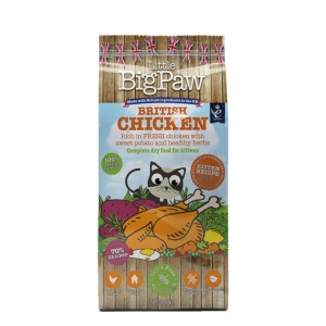 Little BigPaw Complete Kitten British Chicken with Sweet Potato 1.5kg