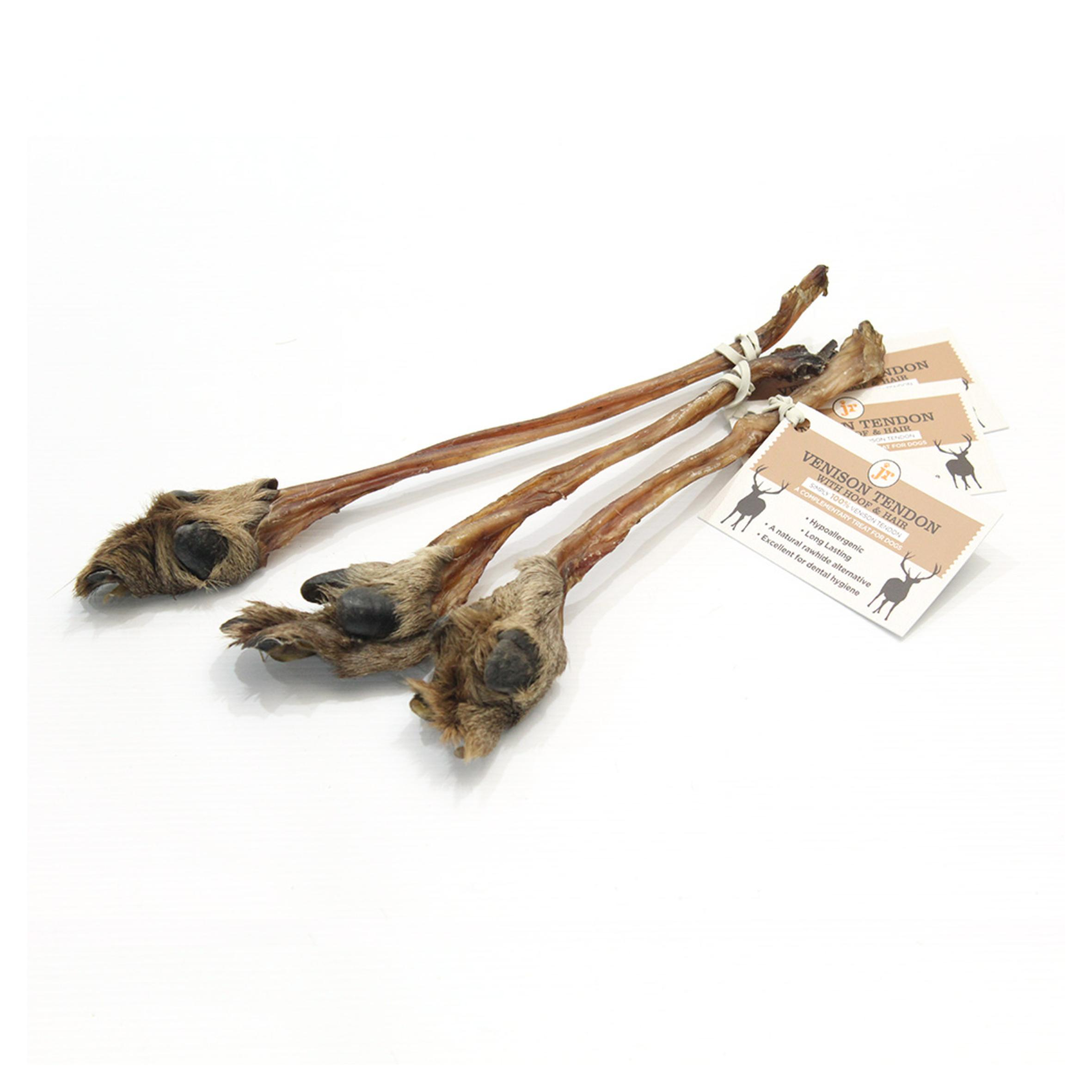 CLEARANCE JR Venison Tendon with Hair and Hoof