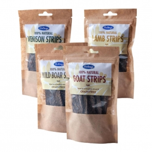 Hollings Natural Meat Strips Bundle 4 x 5pcs