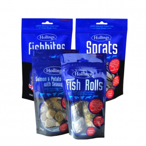 Hollings Natural Fish Bundle 4pk