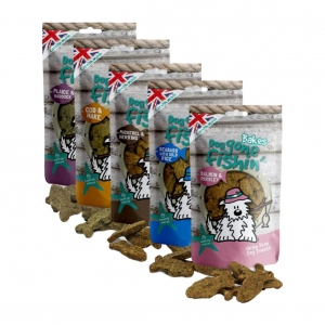Dog Gone Fishin Bakes Bundle 5 x 75gm