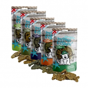 Dog Gone Fishin Crunchies Bundle 5 x 75gm