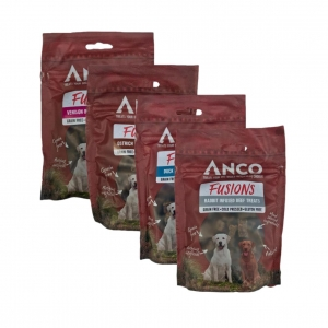 Anco Fusions Treat Bundle 4x 100gm