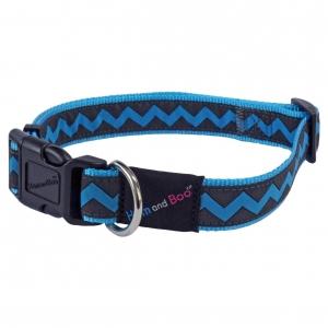 Hem & Boo Zig Zag Blue Collar