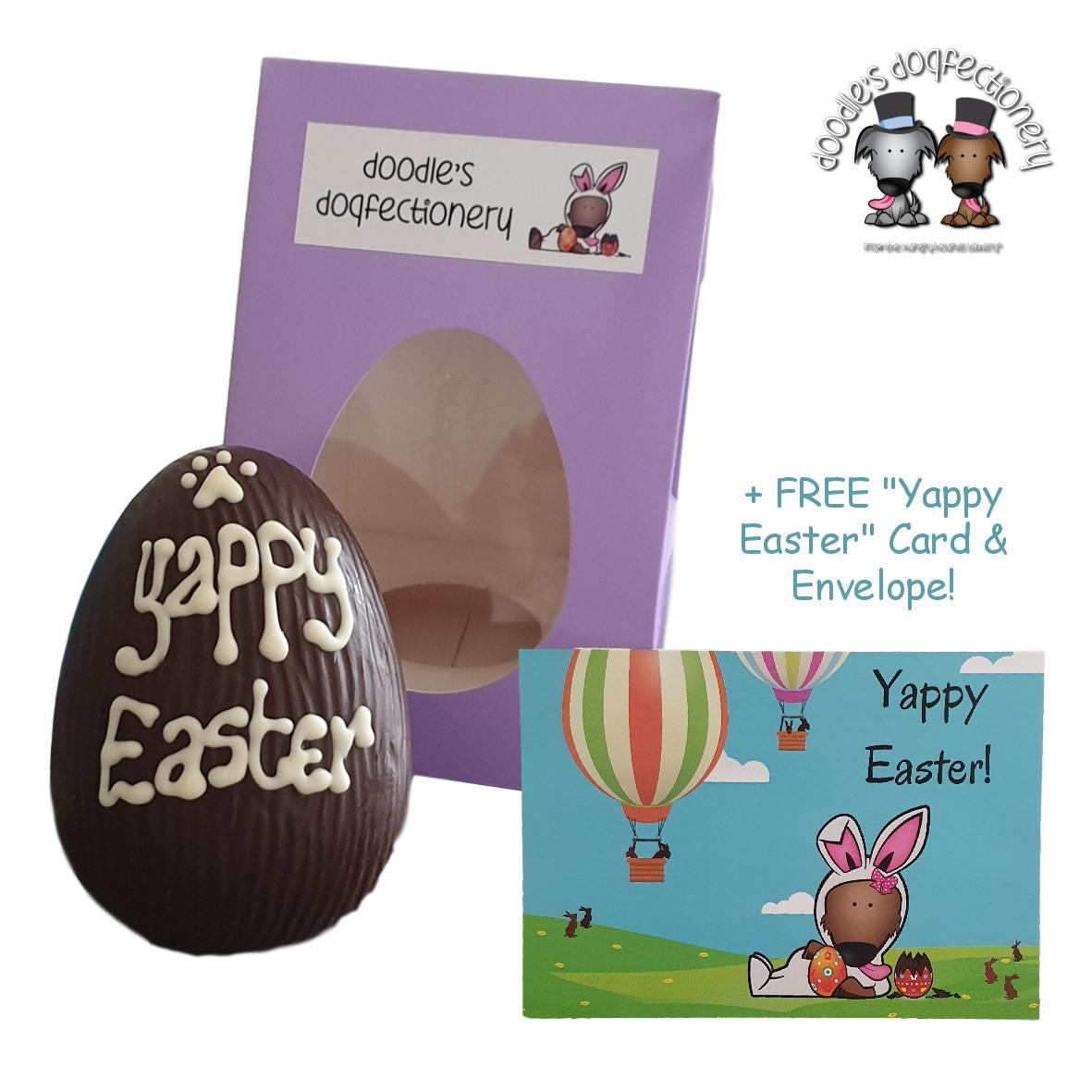 Doodles Dogfectionery Easter Egg 'Yappy Easter' 100gm