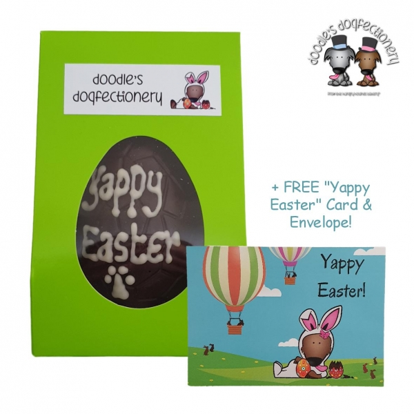 Doodles Dogfectionery Yappy Easter Egg