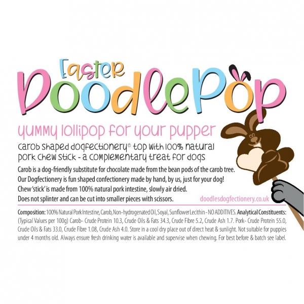 Doodles Dogfectionery Easter Doodlepop
