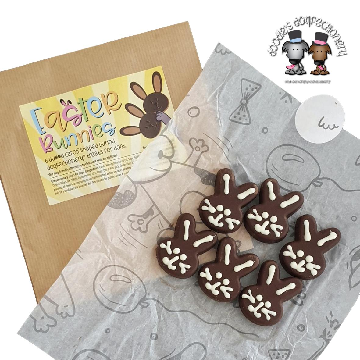 Doodles Dogfectionery Easter Bunnies 6pk