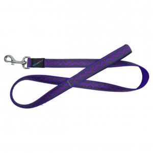 Hem & Boo Zig Zag Purple Lead