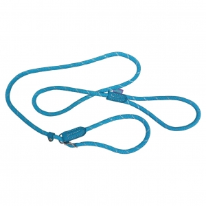 Hem & Boo Mountain Rope Slip Lead Pastel Blue 60""