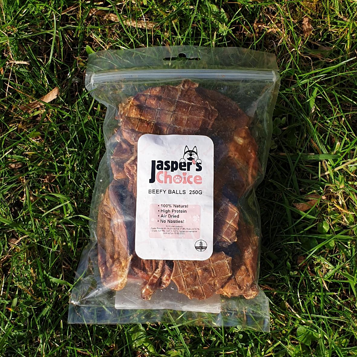 Jaspers Choice Beef Testicles 250g