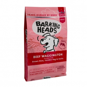 BARKING HEADS Beef Waggington with Brown Rice 12kg