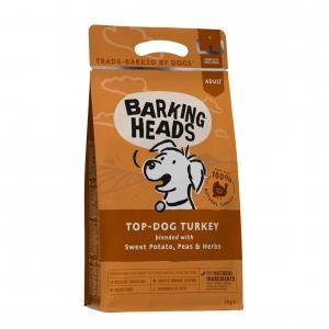 BARKING HEADS Top Dog Turkey with Sweet Potato 2kg