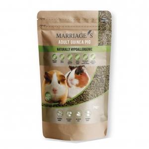 Marriages Hypoallergenic Adult Guinea Pig Pellets 2kg