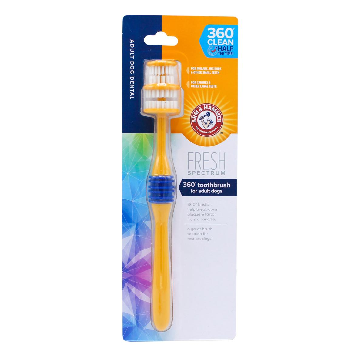Arm & Hammer 360° Toothbrush for Adult Dogs