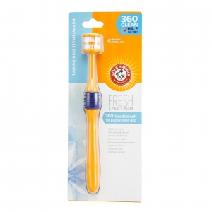 Arm & Hammer 360° Toothbrush for Puppy/Small Dog