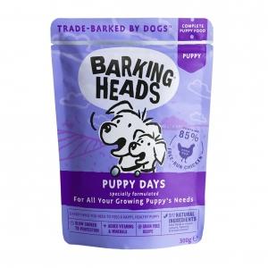 BARKING HEADS Puppy Days Pouches 10 x 300gm